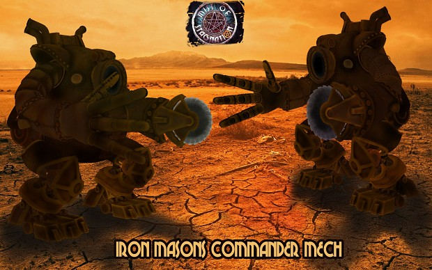 Iron Masons Commander Mech