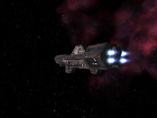 Terran Confederation Destroyer