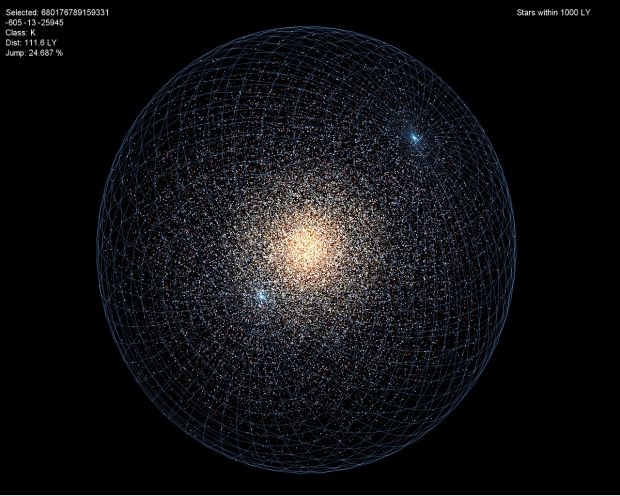 Galactic Map Image Infinity The Quest For Earth Indie Db