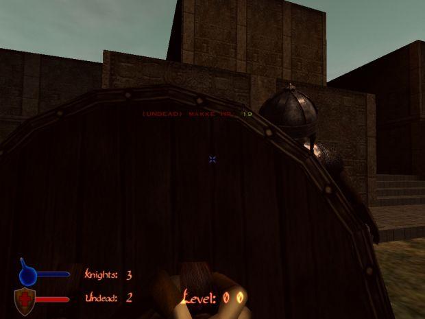 Darsana alpha blocking with shield