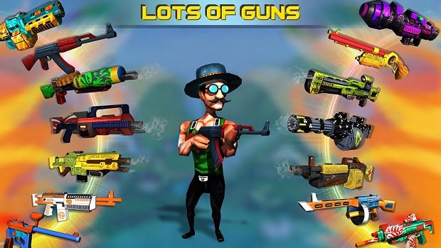 Gun Customization Mini Shooters 5