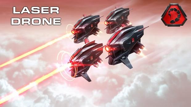C&C Rivals - Laser Drone