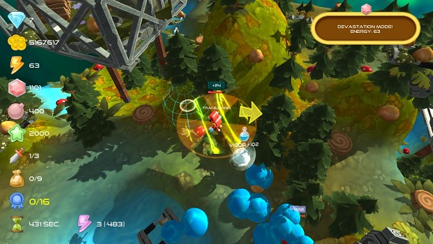 Energy Hunter Boy gameplay