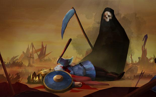 death in battle