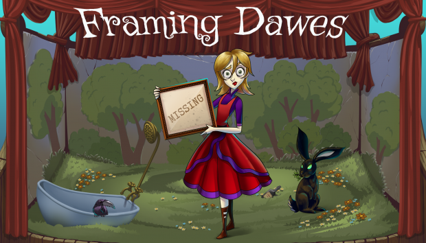 Framing Dawes - A dark point and click adventure game