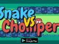 Snake vs Chomper - retro phone classic w/ a twist!