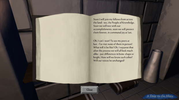 A journal-extract, found in a tomb
