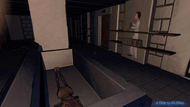 A tomb-room beneath a barrow