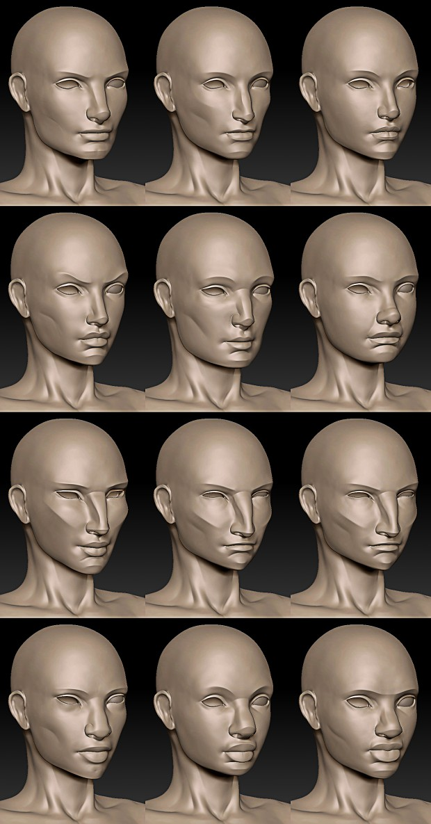 Character Creation Models W.I.P.
