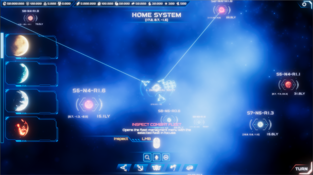 Improved Star Chart UI