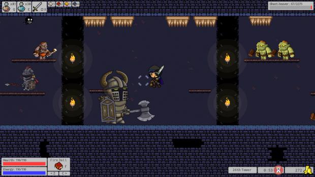 Miniboss Battle: Ghost Reaver