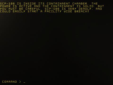 SCP-106 gameplay