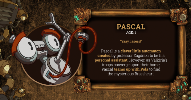 Brassheart Pascal Character Card