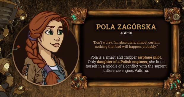 Brassheart Pola Character Card