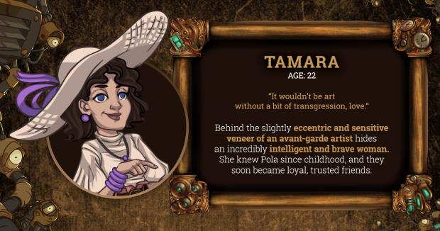 Brassheart Tamara Character Card