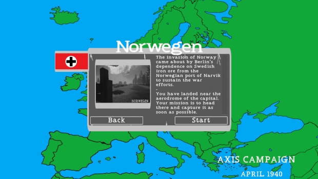 Campaign map image - War in Europe: 1940 - Indie DB