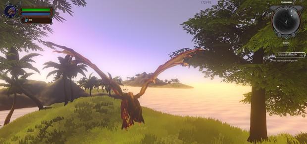 Dragon in Banana Islands