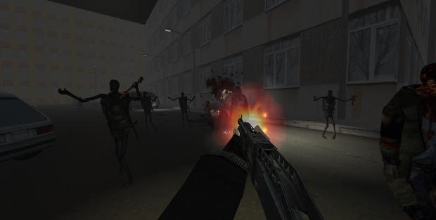 Behead The Undead 2 Screenshot