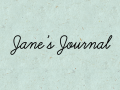 Jane's Journal