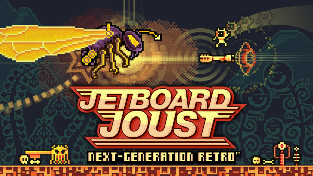 Jetboard Joust : Next-Generation Retro