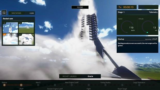 Space Company Simulator - November 2020 Update