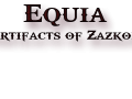 Equia: Artifacts of Zazkor