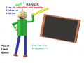 Baldi Basics Fun Fun Fun Minigames On Free Exclusive Edition