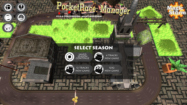 PcketRaceManager MenuFullHD