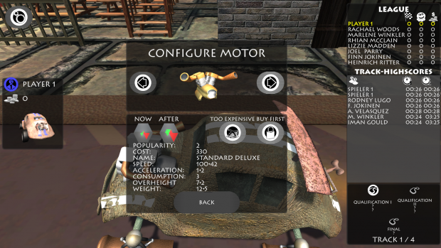PocketRaceManager BuyMotorFullHD