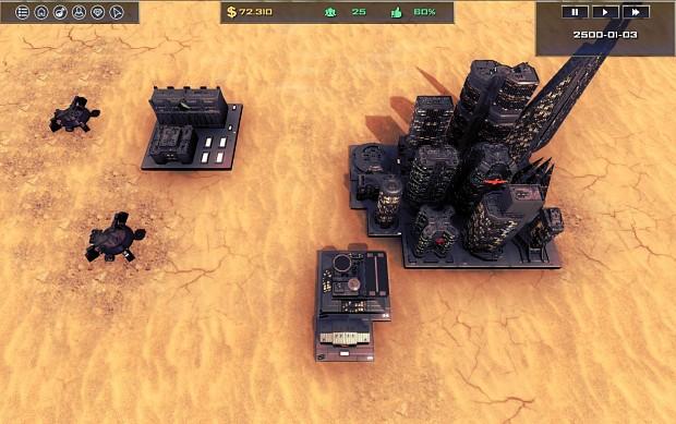 Desertic scenario