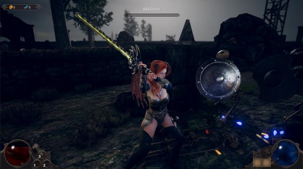 SWPT Combat with sword