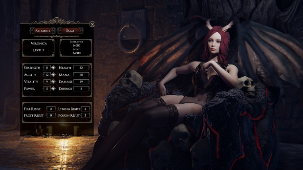 she will punish them succubus game