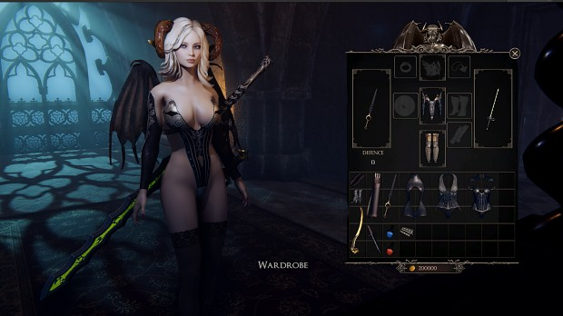 she will punish them wardrobe combat outfit