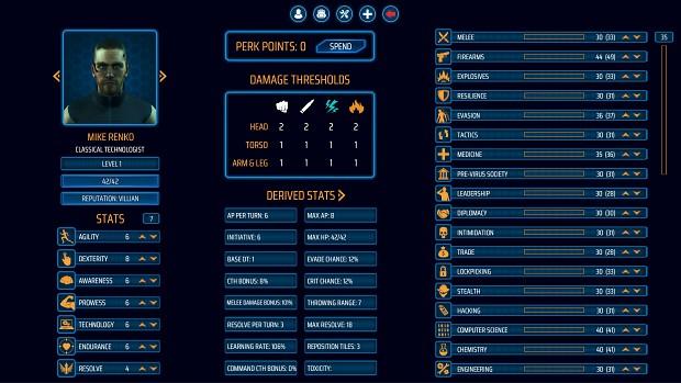 CharacterStatsScreen