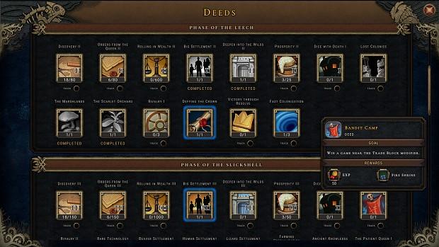 Screenshot 15   World Map   Deeds