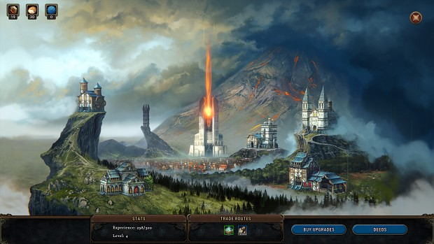 Screenshot 6   World Map   Smoldering City