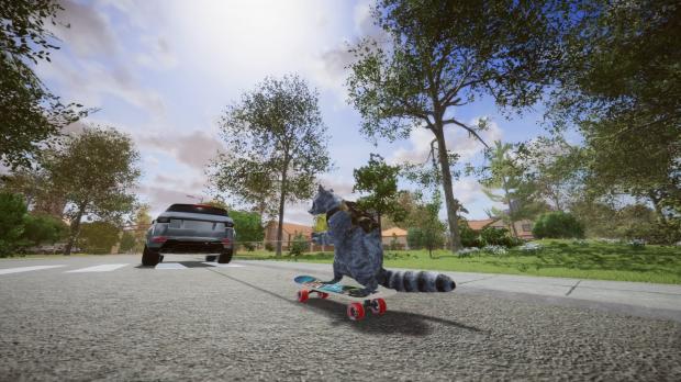 Ride the skate!