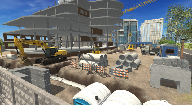 Contruction in Raccoon City