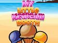 My little ice cream booth