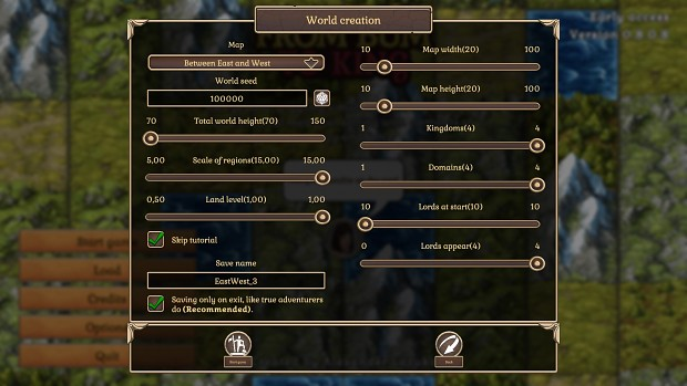 Map generation