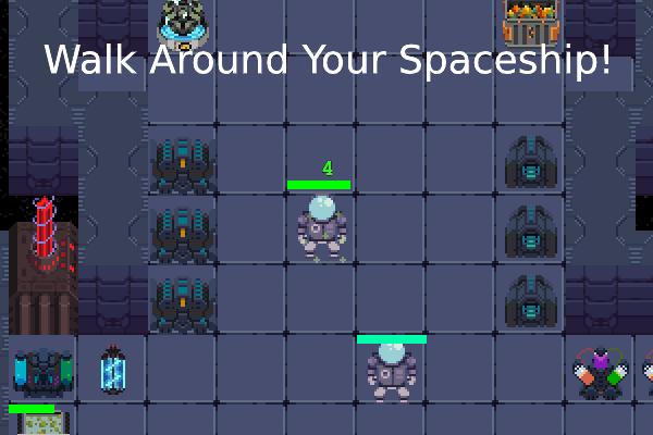 walk around your spaceship 9