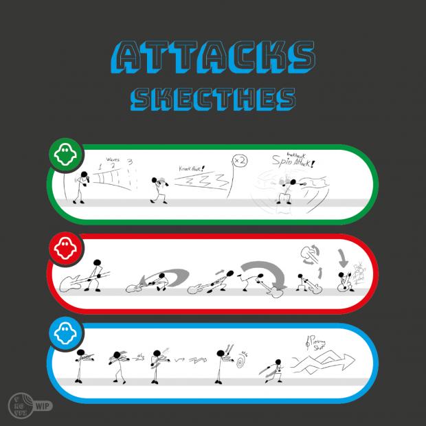 Skecthes | Attacks