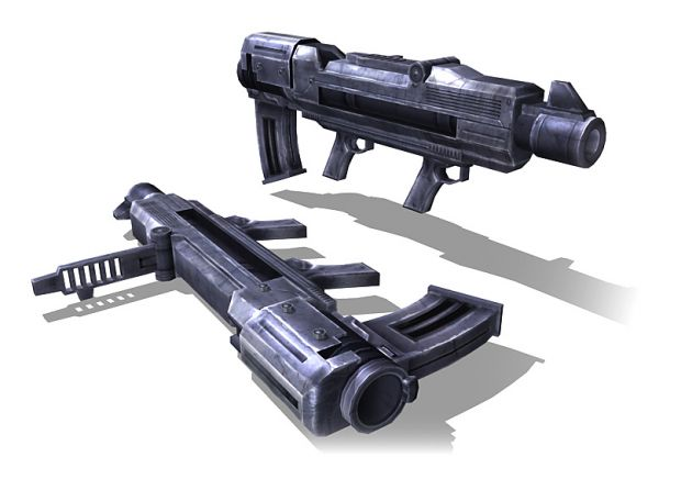 Grenade Launcher Model First View