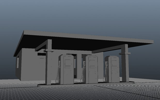 Gas-station - WIP