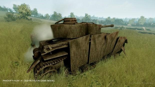 Panzer IV Ausf. H - Destroyed