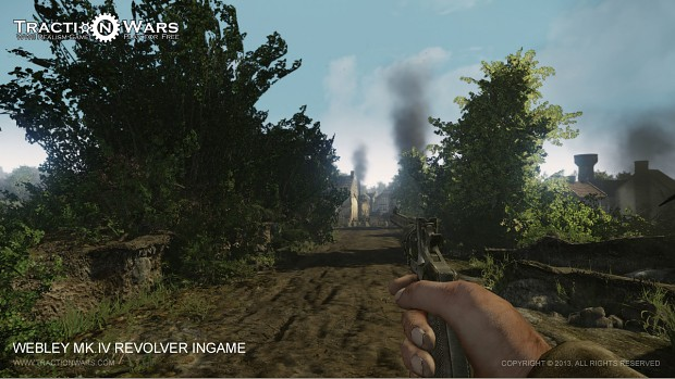 Webley MK IV Revolver - First Person Preview