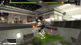 Pure's Wushu attacks producing particles