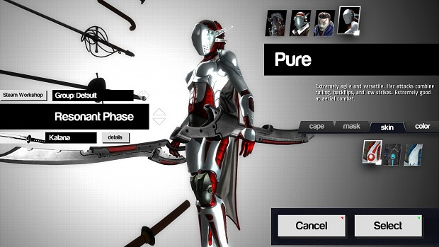 Pure in Character Customization