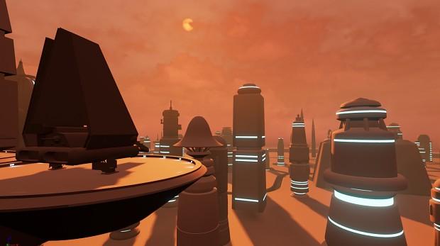 Cloud City - Landing Pad image - Star Wars: Battlecry