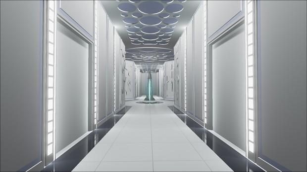 Cloud City - main hallway